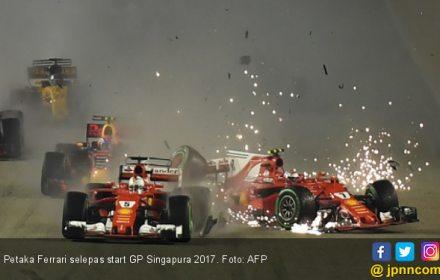F1 GP Singapura: Petaka Buat Vettel, Berkah Bagi Hamilton - JPNN.COM