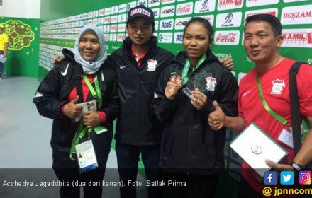 Acchedya Sumbang Perunggu untuk Indonesia di AIMAG - JPNN.COM