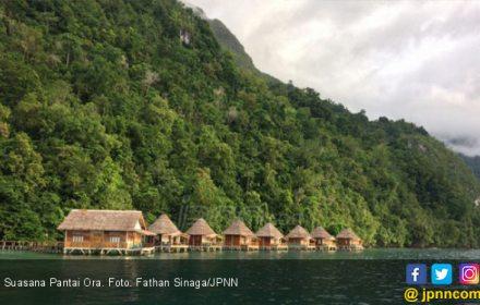 Pantai Ora, Maldives Tersembunyi di Tanah Maluku - JPNN.COM