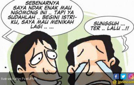 Istri Sakit Stroke, Suami Bersimpuh Minta Izin Menikah Lagi - JPNN.COM