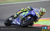 Nyaman di 2 FP MotoGP Aragon, Rossi Cari Tantangan Lain - JPNN.COM