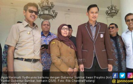 Agus Harimurti Yudhoyono Bertemu Irwan Prayitno, Hhmmm - JPNN.COM