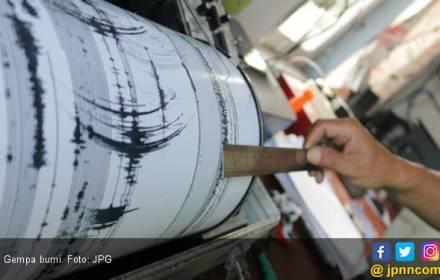 Gempa Bumi Dangkal 5 SR Guncang Selat Sunda - JPNN.COM