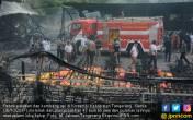 Detik-detik Ledakan Pertama, Atap Pabrik Petasan Jebol - JPNN.COM