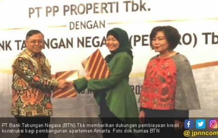 BTN Beri Pembiayaan Pembangunan Apartemen Amarta - JPNN.COM