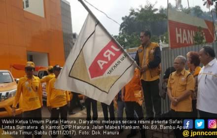 Hanura Gelar Safari Lintas Sumatera, Ini Tujuannya - JPNN.COM