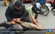 Mabuk Berat, Arif Serang Kakek di Jalan - JPNN.COM
