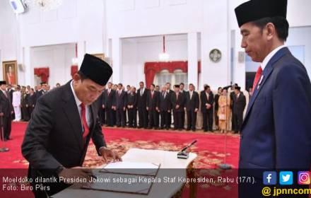 Relasi Jokowi dan Moeldoko Tak Terbatas Pergaulan Politik - JPNN.COM