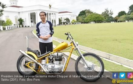Jokowi Semringah Chopperland Pesanannya Tiba - JPNN.COM