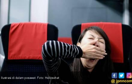 Rahasia Tidur Nyaman di Pesawat - JPNN.COM