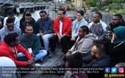 Jalan Santai Awali Kegiatan Jokowi di Selandia Baru - JPNN.COM