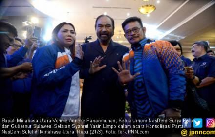 Imam Besar Masjid Istiqlal Ramal Masa Depan Politik SYL - JPNN.COM