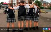 Unik, Sekolah di Inggris Ini Izinkan Siswa Pakai Rok - JPNN.COM