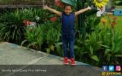 Aurellia Ajak Anak-anak Jangan Malas Belajar - JPNN.COM