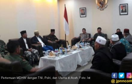 MDHW Pertemukan TNI, Polri, dan Ulama di Aceh - JPNN.COM