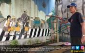 Aiptu Tarigan Gantung Diri dekat Mural Polantas Bertugas - JPNN.COM
