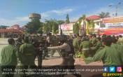 Ngeri, Anggota PSHT dan Persinas Bentrok di Halaman Polres - JPNN.COM