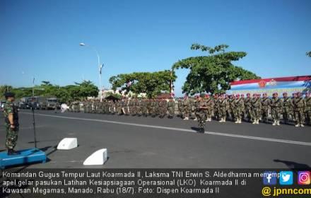 650 Personel Koarmada II Gelar Latihan Kesiapsiagaan - JPNN.COM