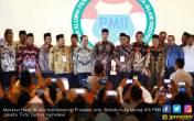 Menaker Hanif Dampingi Jokowi Buka Munas IKA PMII - JPNN.COM