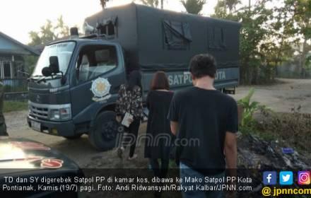 Cerita Kasatpol PP Menggerebek TD dan SY di Kamar Kos, haha - JPNN.COM