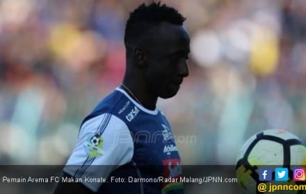Arema FC Perpanjang Kontrak Makan Konate, Nilainya? Wouw - JPNN.COM