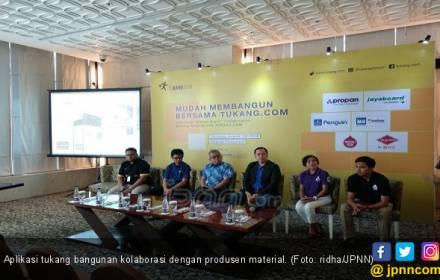 Aplikasi Jasa Tukang Gandeng Produsen Material Bangunan - JPNN.COM