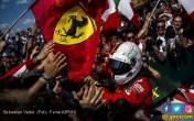 F1 Belgia: Hanya Vettel dan 9 Pembalap yang Dapat Poin - JPNN.COM
