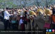 Jokowi Pimpin Apel Siaga NTB Bangun Kembali - JPNN.COM