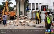Ganggu Estetika Kota, 3 Pos Polisi di Medan Dibongkar Paksa - JPNN.COM