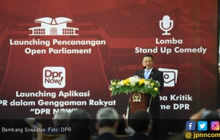 Bamsoet Janji Tambah Fitur Aplikasi DPR NOW! - JPNN.COM