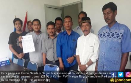 Pengurus NasDem Nagan Raya Mundur Massal - JPNN.COM