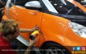 Cara Melepas Cutting Sticker di Bodi Mobil Tanpa Bekas - JPNN.COM