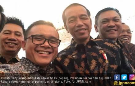 Para Bupati Berterima Kasih Jokowi Bangun Infrastruktur - JPNN.COM