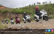 Uji Nyali Honda PCX Sejauh 1.400 Km Rampung, Ini Hasilnya - JPNN.COM