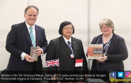 Indonesia - Inggris Perkuat Kerja Sama Sektor LHK - JPNN.COM