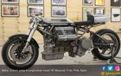 Edan! Motor Custom Ini Dicangkok Mesin V6 Maserati - JPNN.COM