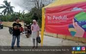 Tri Indonesia Ikut Percepat Pemulihan Area Terdampak Tsunami - JPNN.COM