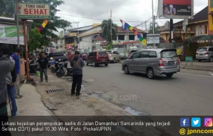 Perampokan Sadis: Misyanto Dibacok, Rp 800 Juta Digondol - JPNN.COM