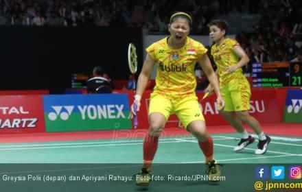 Sukacita Greysia / Apriyani Tembus Perempat Final Indonesia Masters - JPNN.COM