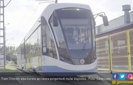 Rusia Mulai Menguji Kereta Api Tanpa Pengemudi - JPNN.COM