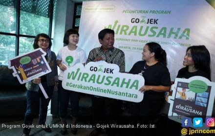 Gojek Dorong 35.000 UMKM Naik Kelas Lewat Pelatihan Digital - JPNN.COM