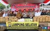 Polda Lampung Ungkap Modus Terbaru Penyeludupan Narkotika - JPNN.COM