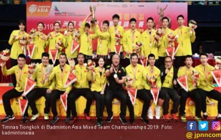 Tiongkok Juara Badminton Asia Mixed Team Championships 2019 - JPNN.COM