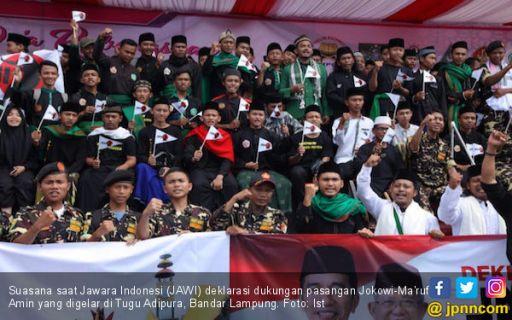 Jawara Indonesia Deklarasi Dukungan untuk Jokowi - Ma'ruf